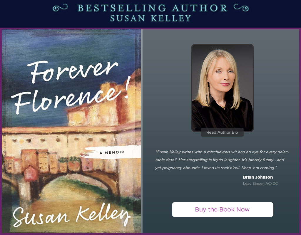 Best-Selling Author Susan Kelley